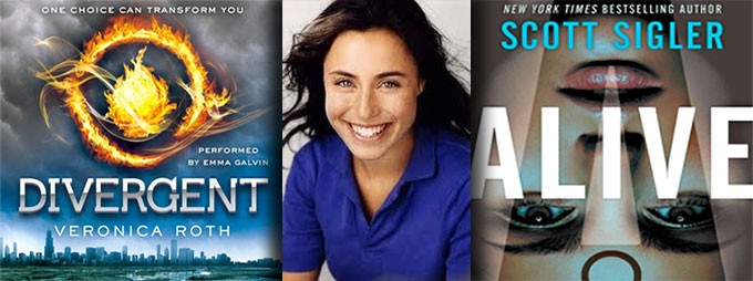 Actress Emma Galvin, narrator of DIVERGENT and WINTER'S BONE, to do the audiobook for ALIVE by Scott Sigler